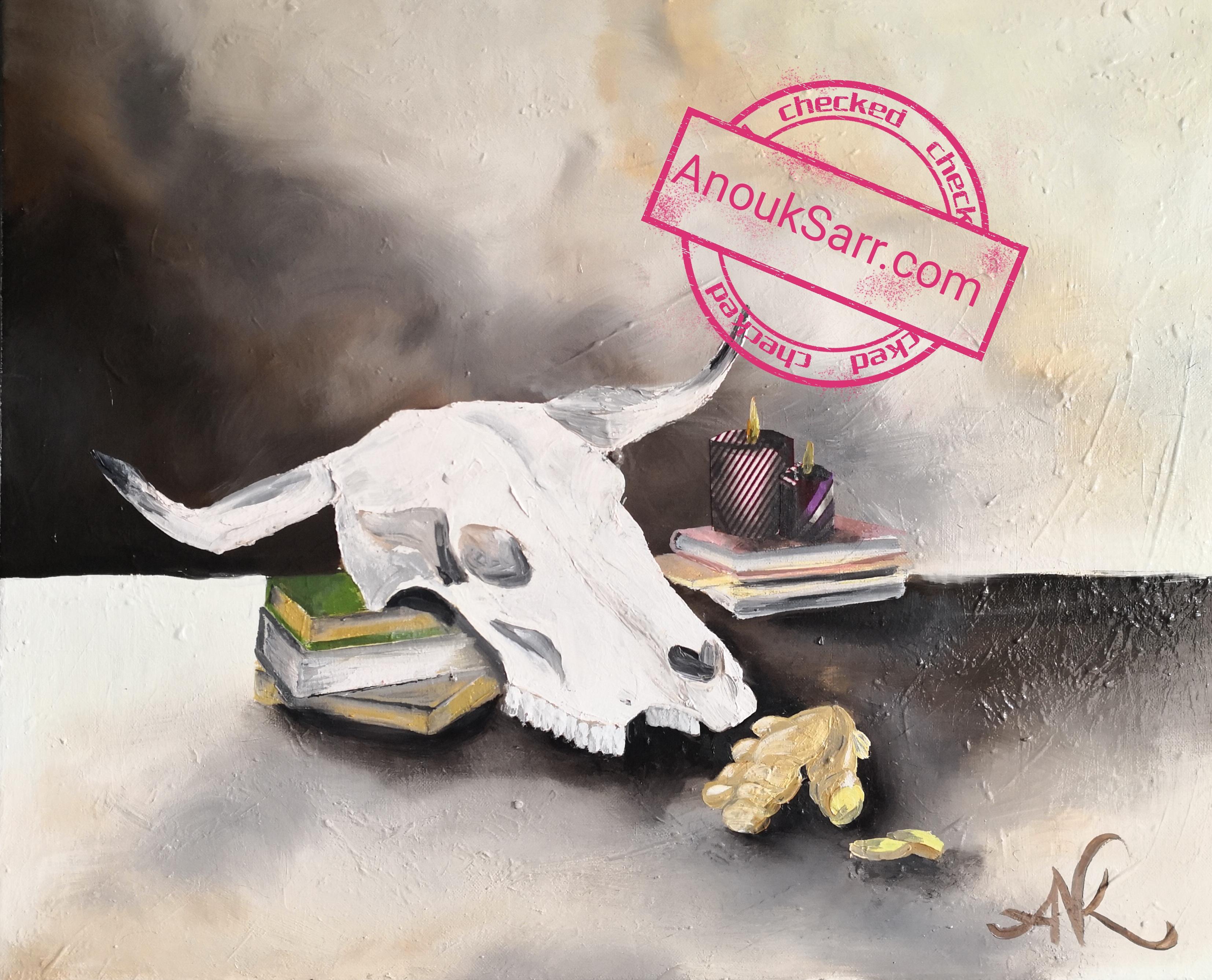 Peintures Inspiration Sénégalaise – Anouk Sarr