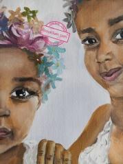 Printemps, huile sur toile, 50x70, Anouk Sarr 2018