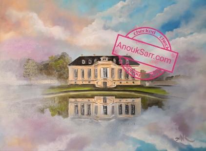 Château de la Louviere Anouk Sarr peinture huile sur toile 60x80cm Anouk Sarr 2019 8