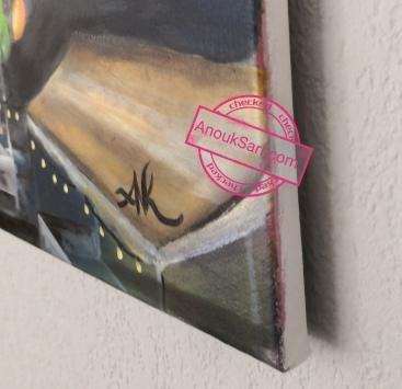 chateau de saige cadaujac bordeaux Anouk Sarr artiste